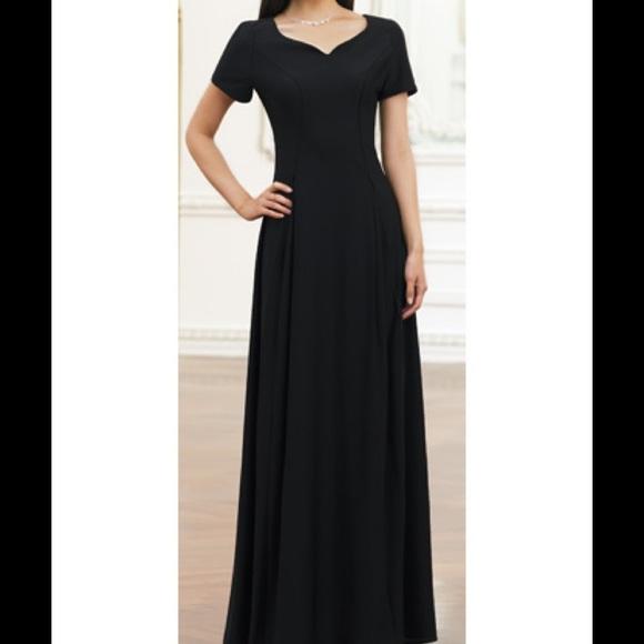 Southwestern Dresses Black Cadenza Dress Concert Dress Long Poshmark